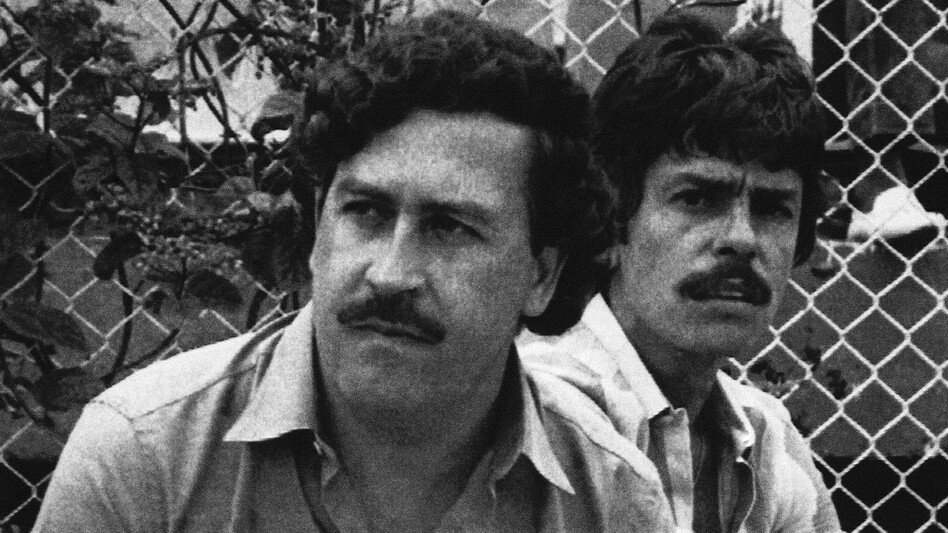 Escobar, the Medellin drug cartel boss, watches a soccer game in Medellin, Colombia, in 1983. He was gunned down in 1993 after a long manhunt and more than a decade of ruling Colombia through terror. (AP)