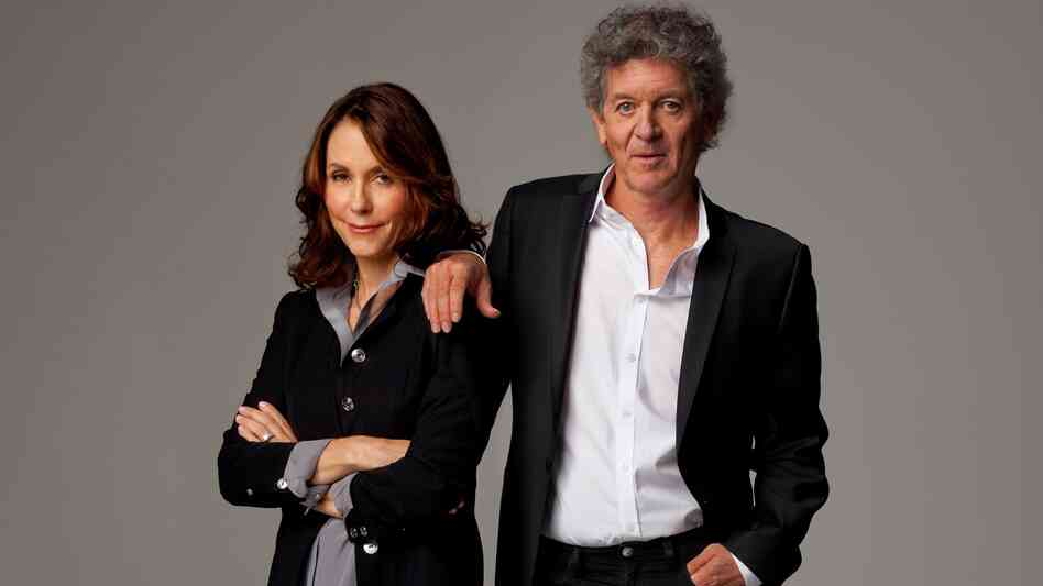 Rodney Crowell and Mary Karr.