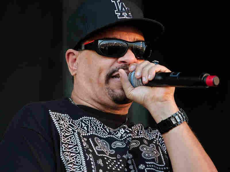 Rapper Ice-T