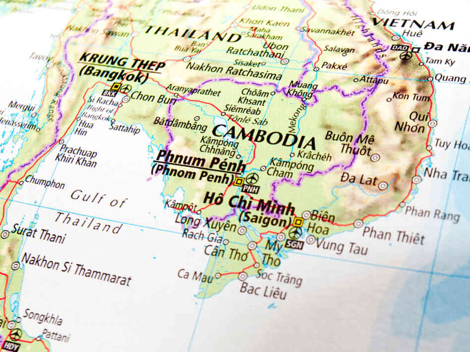 A map shows Cambodia.
