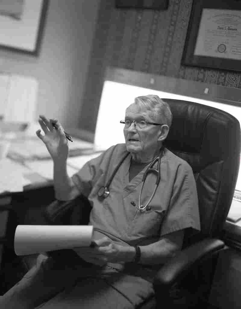 Donald Rasmussen, 84, is a pulmonologist in Beckley, W.Va. He figures he's tested 40,000 coal miners in the last 50 years.