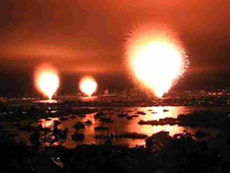 """Oops. A """"premature ignition"""" in San Diego sent an entire fireworks show off at once."""
