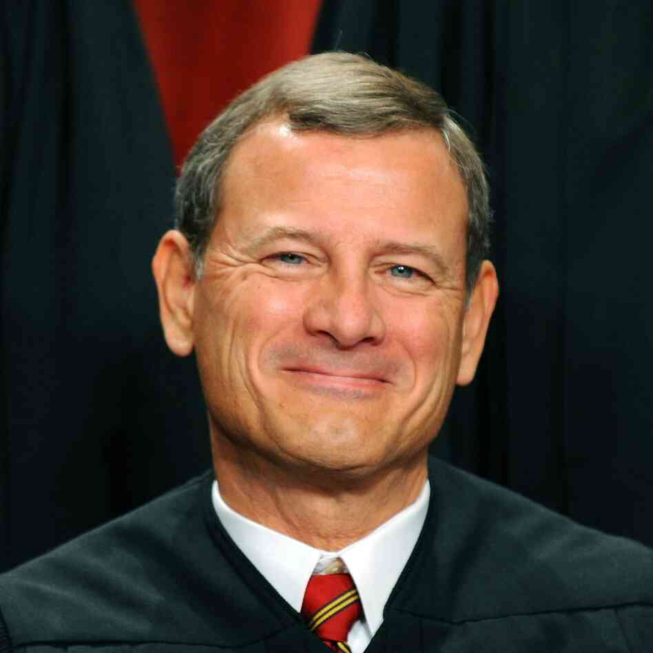 Supreme Court Chief Justice John G. Roberts.