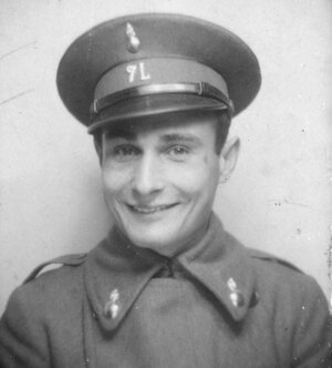 Juan Pujol Garcia in his uniform as a lieutenant in the Spanish Republican Army.