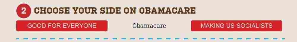 A screen grab from the website politicalscreamingmatch.com.