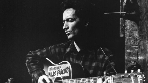 Woody Guthrie would have turned 100 on July 14, 2012. (Woody Guthrie Foundation and Archives)