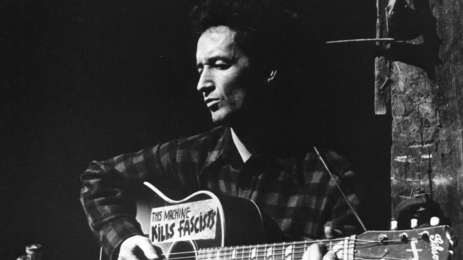 Image result for woody guthrie pictures