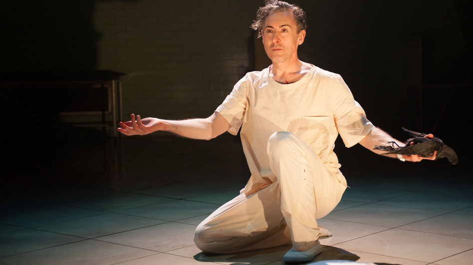 Alan Cumming plays Macbeth, Lady Macbeth, Banquo and many other characters in a one-man adaptation of Shakespeare's tragedy set in a psychiatric ward. The show plays as part of the Lincoln Center Festival in New York through July 14. (Lincoln Center)
