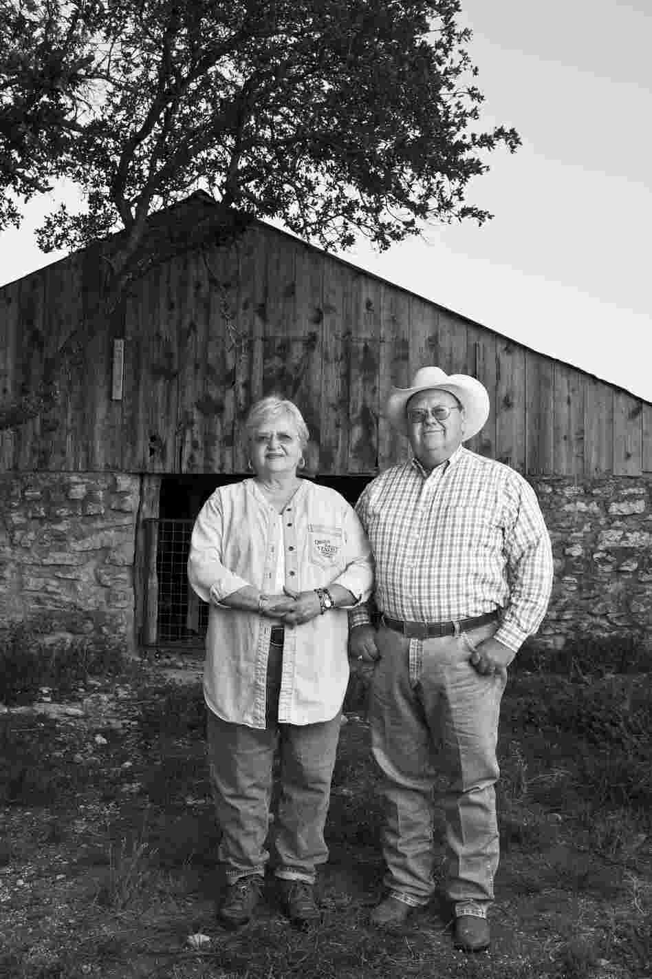 "Siblings Charles and Nancy Hagood Nunns, who grew up in Junction during the '50s drought. Charles, 59, has been a banker and rancher in Junction since 1979: ""I would visit with men that I'd always known as carpenters, painters, merchants. And then visiting with them in deeper detail I'd find out that they were ranchers until the drought. Just like my daddy. The drought drove us to town."""