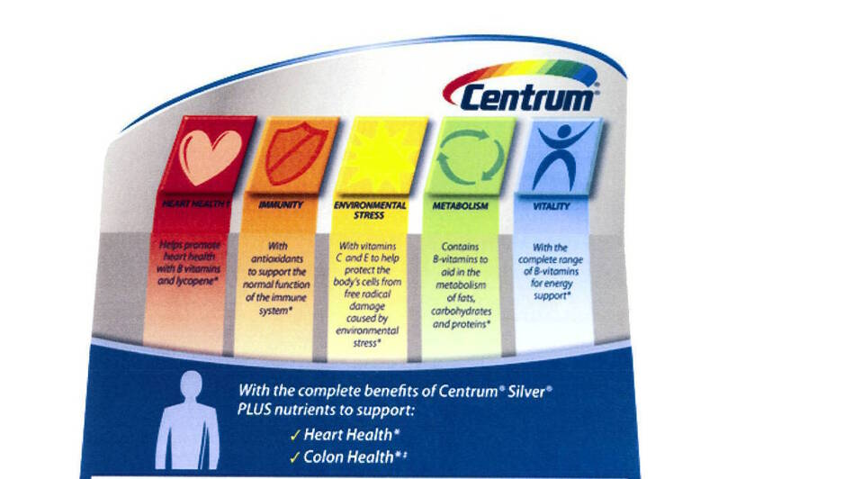 Pfizer will drop or qualify some health claims on labels and in ads for Centrum vitamins and supplements. (CSPI)