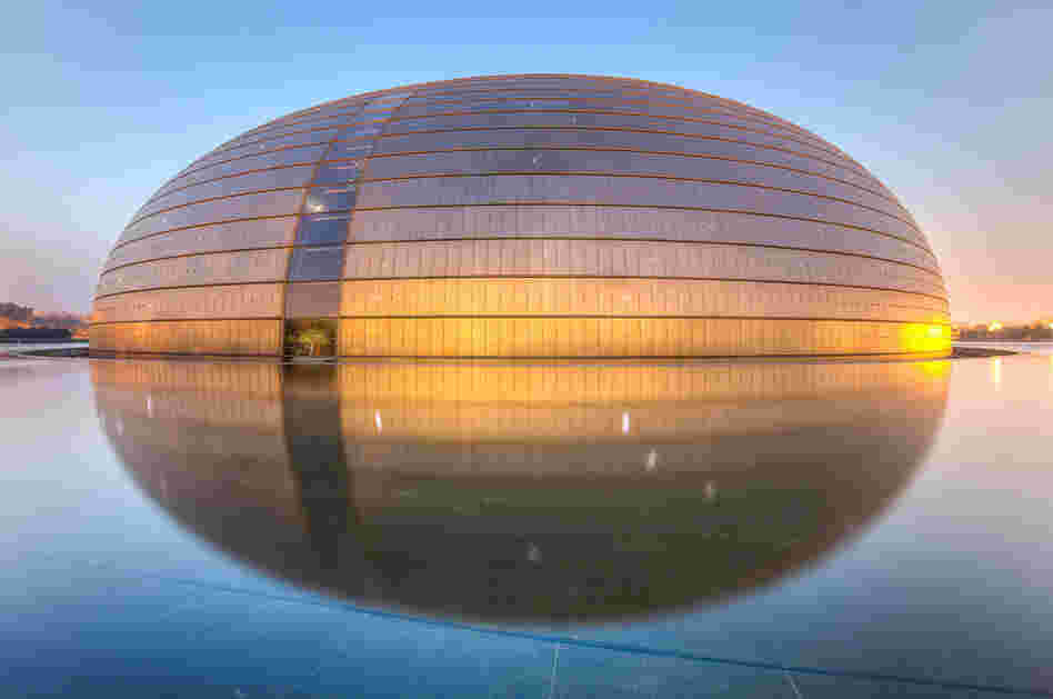 The National Centre for the Performing Arts, Beijing, China
