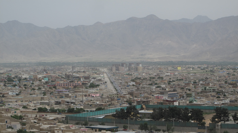 Kabul continues to sprawl in all directions, and a brown haze often hangs over the dusty city. (Sean Carberry)