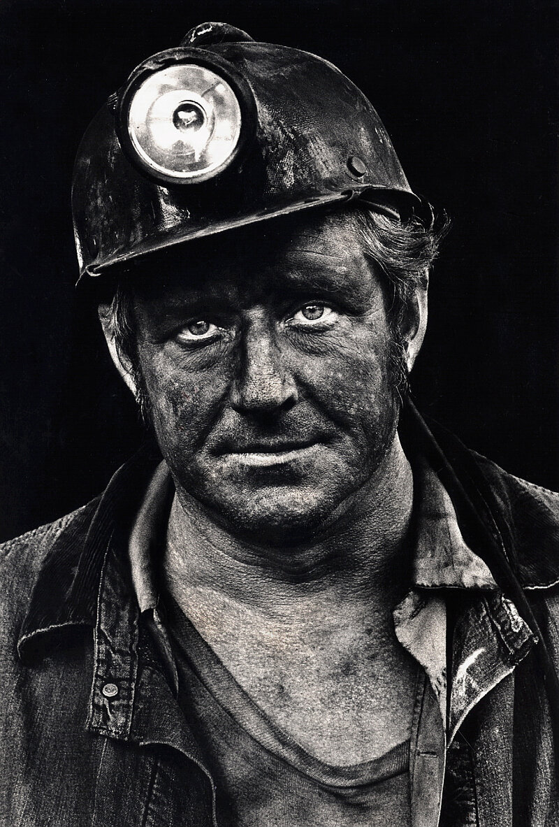 Documenting 'Dirty' Jobs: Miners At Work : The Picture Show : NPR