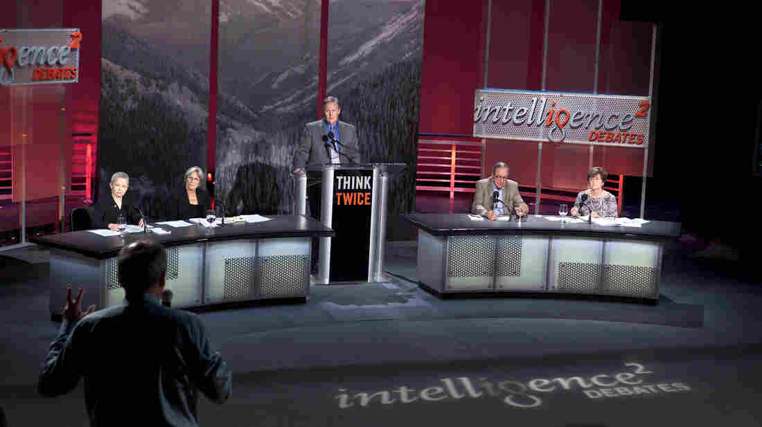 An expert panel debates the pros and cons of the natural gas boom during an Intelligence Squared U.S. debate at the Aspen Ideas Festival in Colorado.