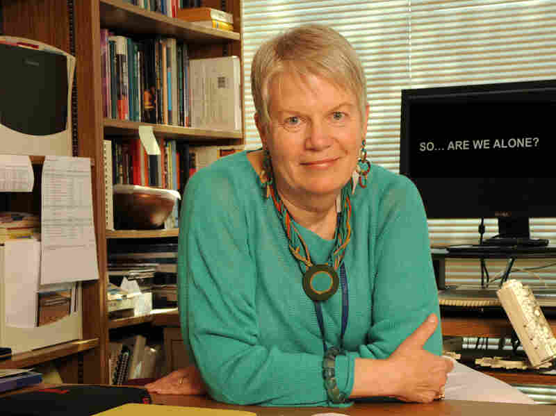 Dr. Jill Tarter has spent 35 years searching for extraterrestrial life in the universe. She has a Ph.D. in astronomy from the University of California, Berkeley.