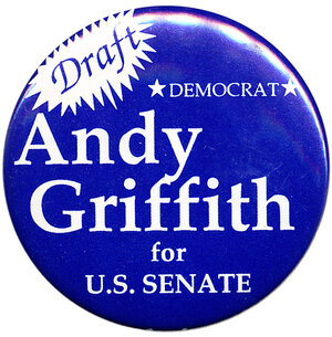 Andy Griffin Senate button