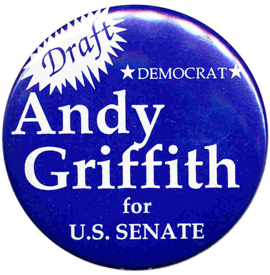 Andy Griffin Senate button