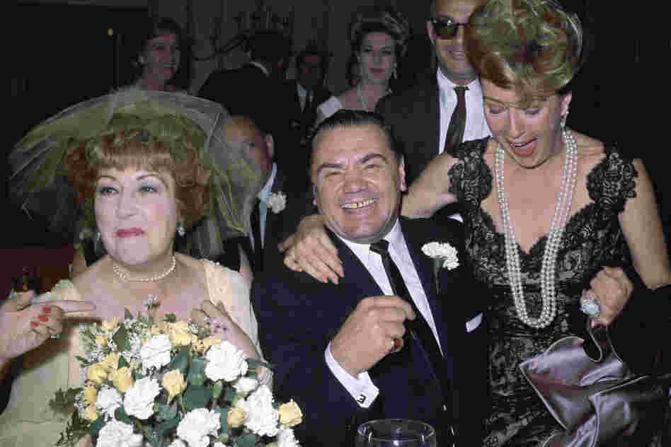 Borgnine married singer Ethel Merman (left) in 1964. The marriage lasted barely a month.