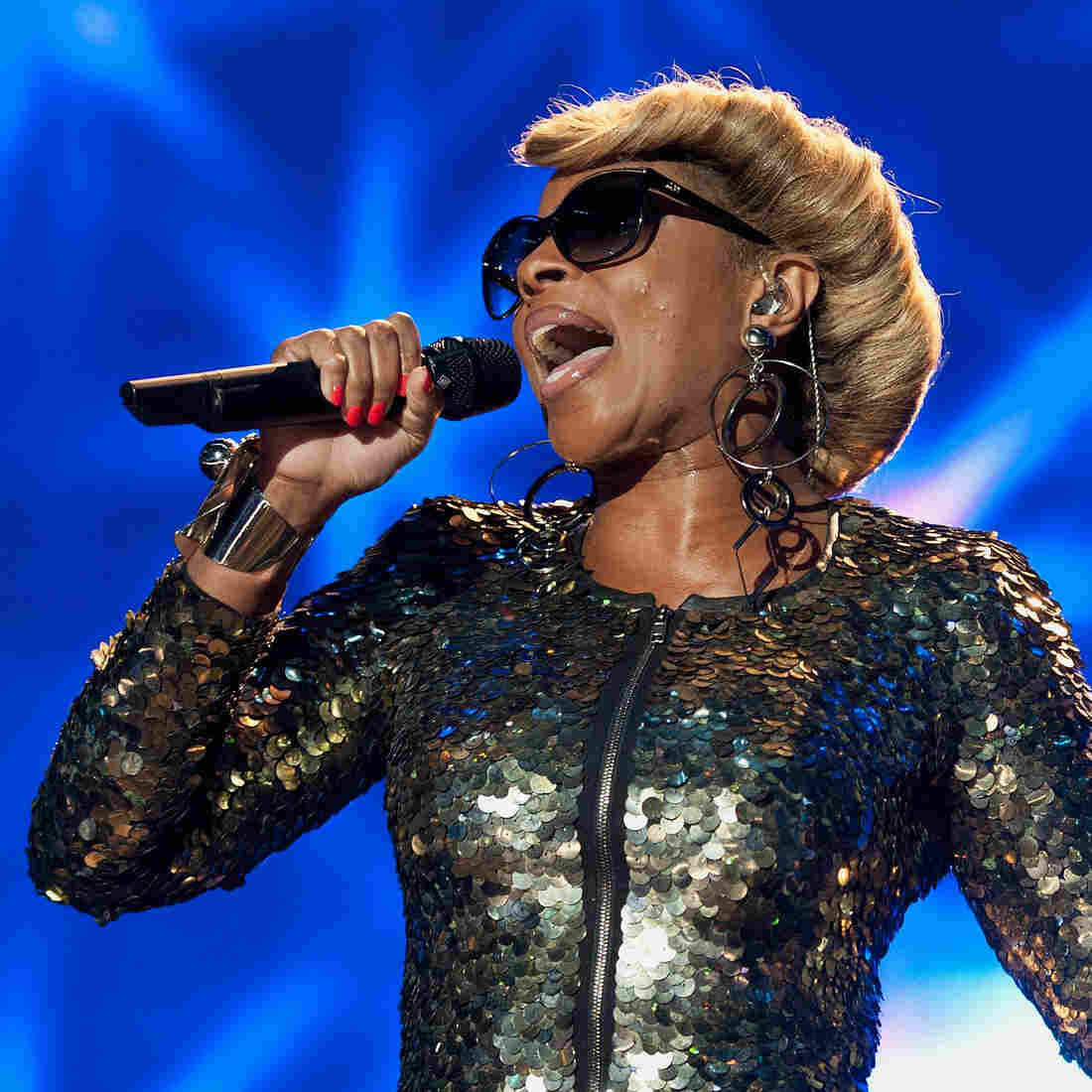 Mary J. Blige performs during the 2012 Essence Music Festival at Louisiana Superdome on July 7.