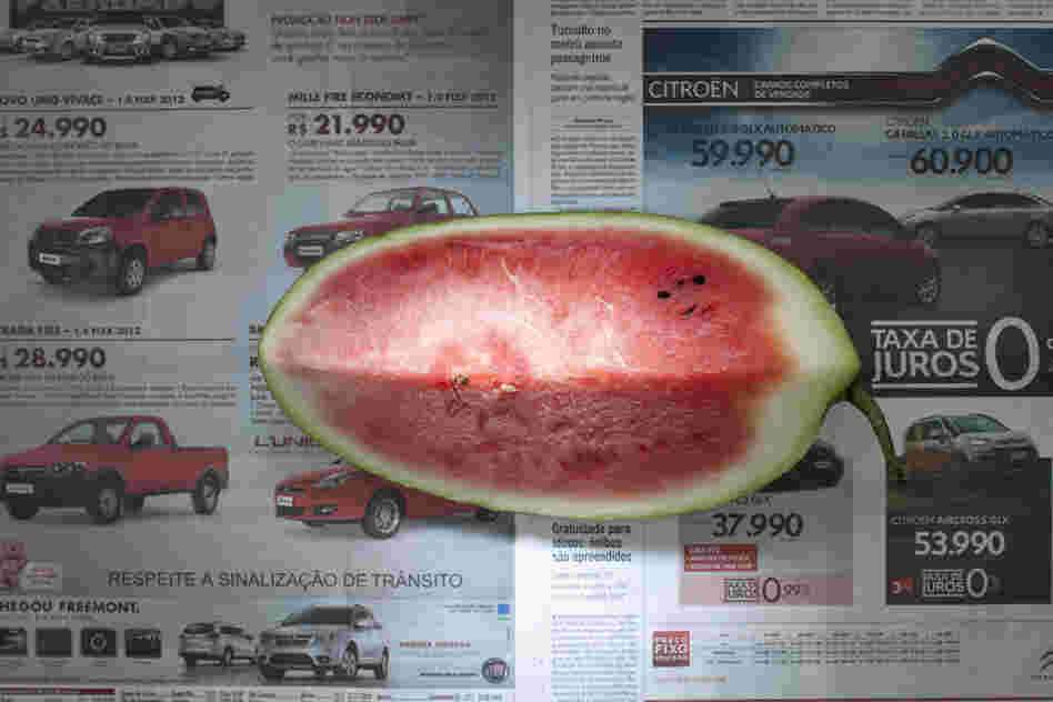 Brazil: 2.33 reals, or $1.14 U.S., of watermelon.
