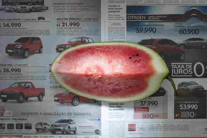 Brazil: 2.33 reals, or $1.14 U.S., of watermelon.