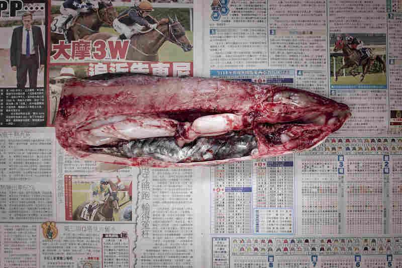 Hong Kong: 44.96 Hong Kong dollars, or $5.79 U.S., of fish.