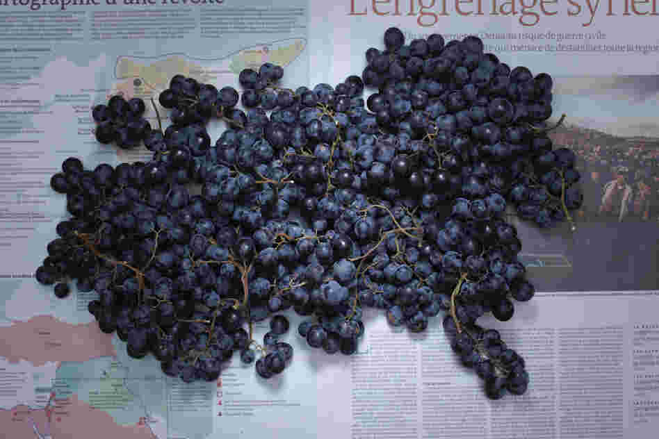 France: 5.60 euros, or $7.45 U.S., of French grapes.
