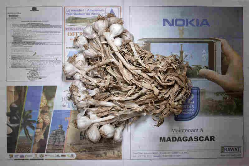 Madagascar: 1,284 ariary, or 58 cents U.S., of garlic.