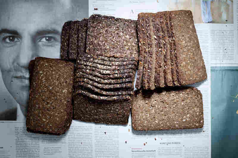 Germany: 4.82 euros, or $6.41 U.S., of German bread.