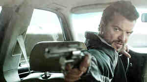 Mrado (Dragomir Mrsic) is the enforcer for a Serbian drug cartel that controls business in Sweden, and one of three characters who clash in Easy Money.