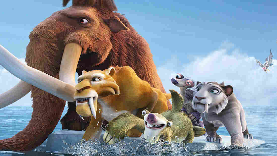 Ice Age: Continental Drift, which comes out July 13, is the fourth film in the animated franchise. Since Toy Story marked the beginning of the era of entirely computer-animated films, they've been a studio's safest bet for big earnings at the box office and beyond.