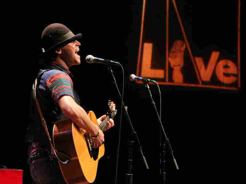 Langhorne Slim performs songs from his new album at World Cafe Live in Philadelphia.