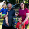 Josh Walling and Randi Cartmill with their children, Jacqueline, Josh and Ryan. Josh Walling says his family, whose household income is below the national median, would lose a substantial amount of money if the Bush tax cuts expired.
