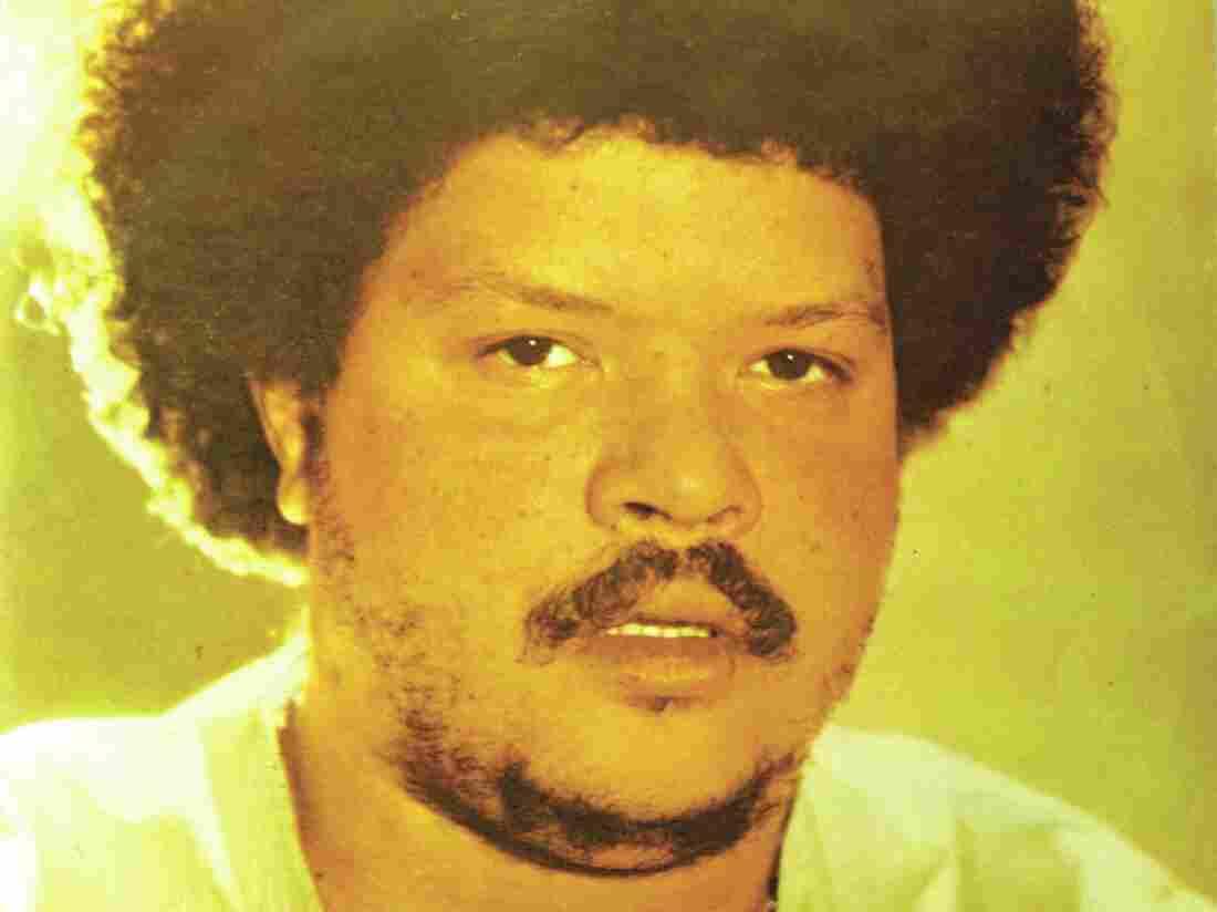 Brazilian singer Tim Maia, circa 1971.