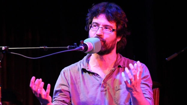 Greg Pak visits Ask Me Another at The Bell House in Brooklyn, NY. (NPR)