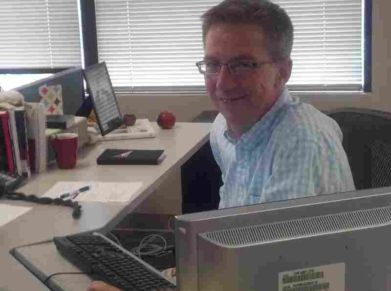 NPR's Rick Holter will soon be leaving and moving to Dallas.