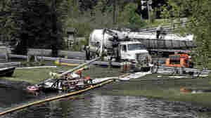 Firm Blamed In The Costliest Onshore Oil Spill Ever
