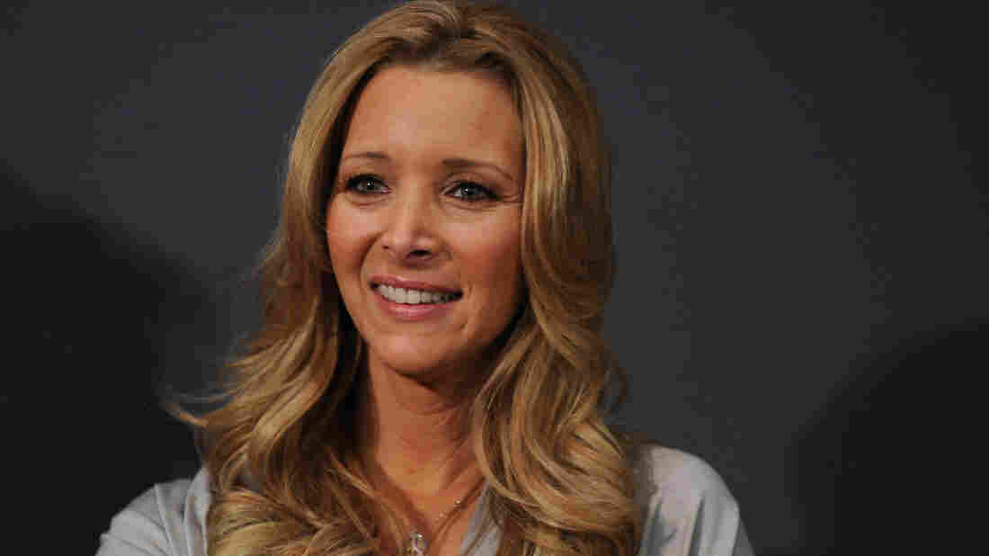Lisa Kudrow, seen here in 2010, stars in Showtime's Web Therapy, a show she also created.