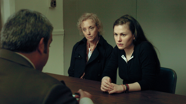 In Margaret, Lisa (Anna Paquin) distracts a bus driver, which leads to an accident in which a pedestrian is run over and dies. (Fox Searchlight Pictures)