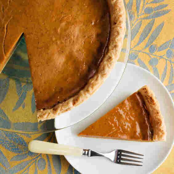 Pumpkin pie to the rescue?