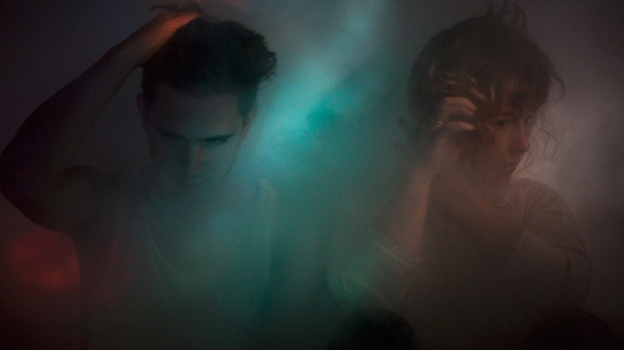 Purity Ring's first album, Shrines, comes out July 24. (Landon Speers)