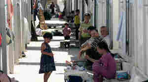 More than 35,000 Syrians have sought shelter in Turkey. Most of the refugees at the Kilis refugee camp in southern Turkey are women and children.