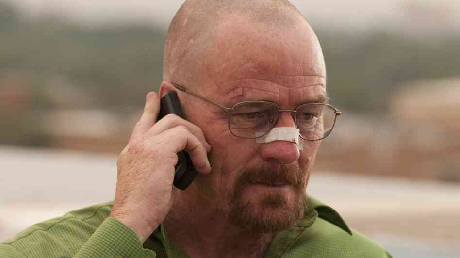 Bryan Cranston as Walter White on AMC's Breaking Bad.