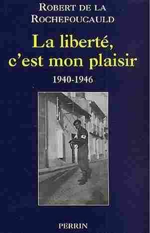 Count Robert de La Rochefoucauld shared the stories of his World War II exploits in a book.