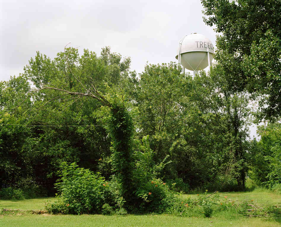 Water Tower, Treece, 2010