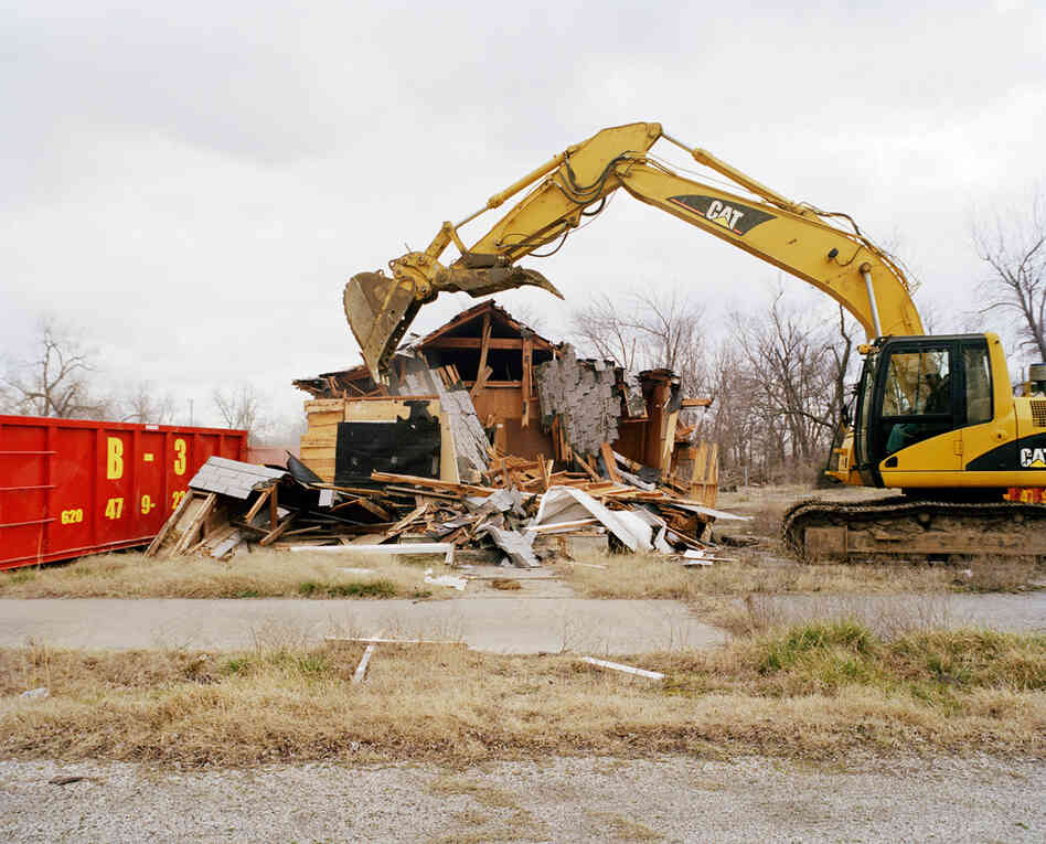 City Hall Demolition #3, Treece, 2012