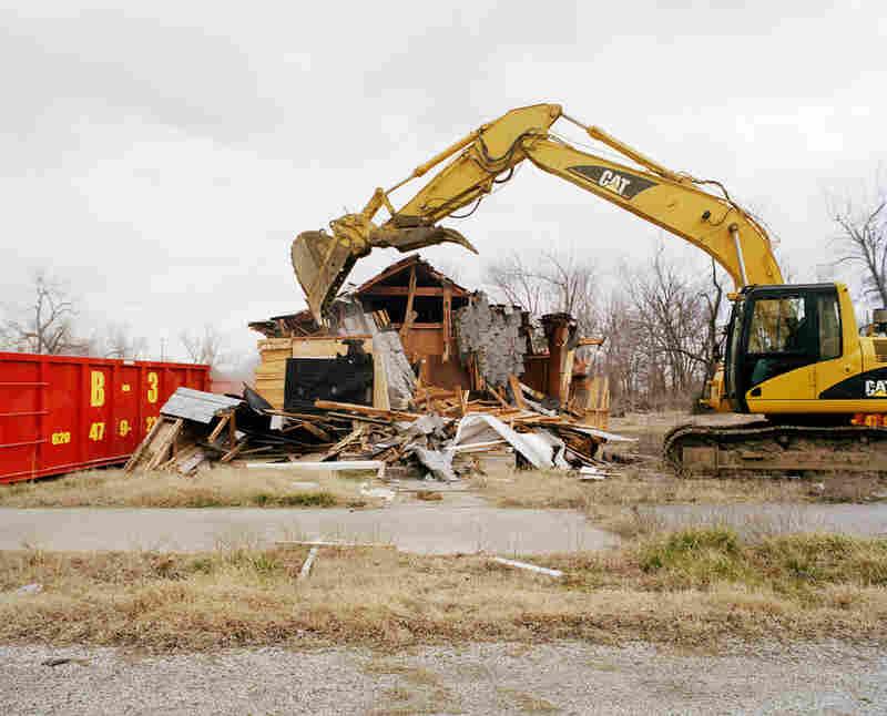 City Hall Demolition #3, Treece, 2012