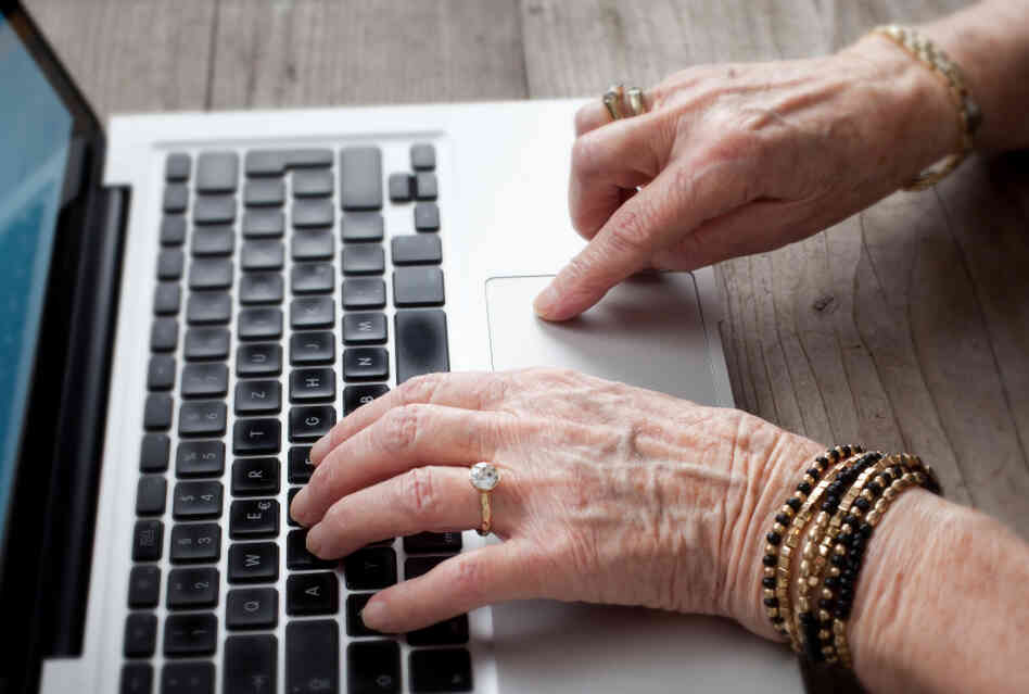 More older adults are using the Internet, thanks in part to introductory classes offered offline.