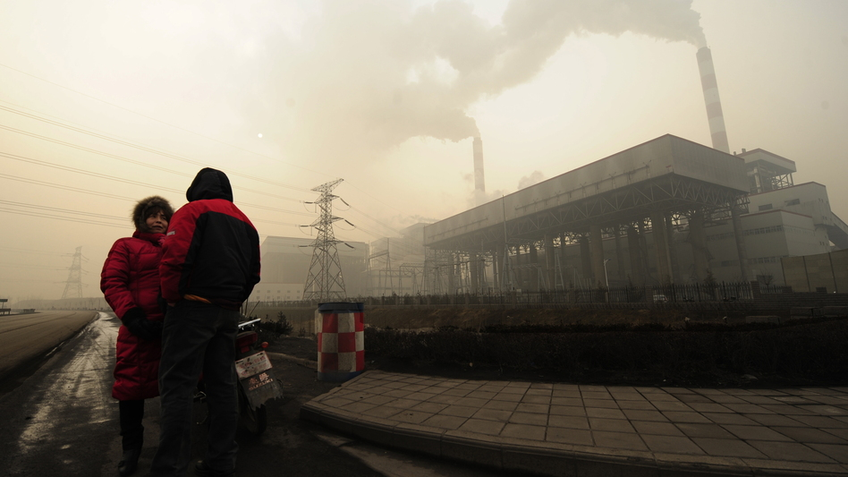 The coal-centric economy of Linfen, China, has earned it a reputation for being one of the most polluted cities in the world. (AFP/Getty Images)