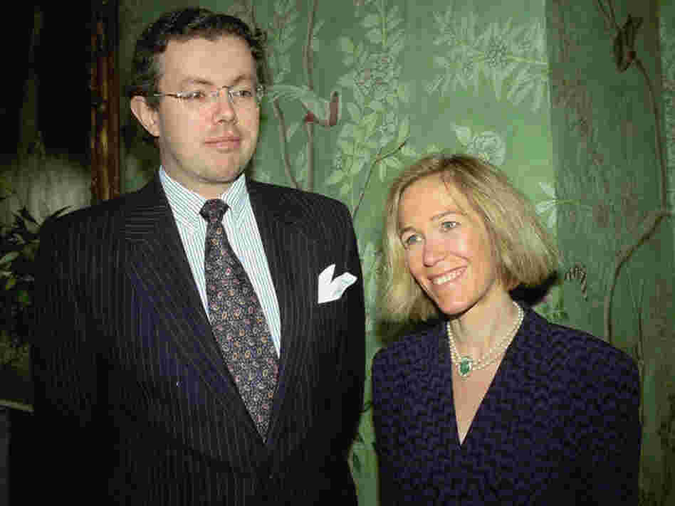 Eva Rausing, right, and her husband Hans Kristian Rausing in 1996.